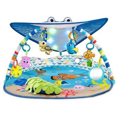 Disney Baby Finding Nemo Mr Ray Ocean Lights Activity Gym