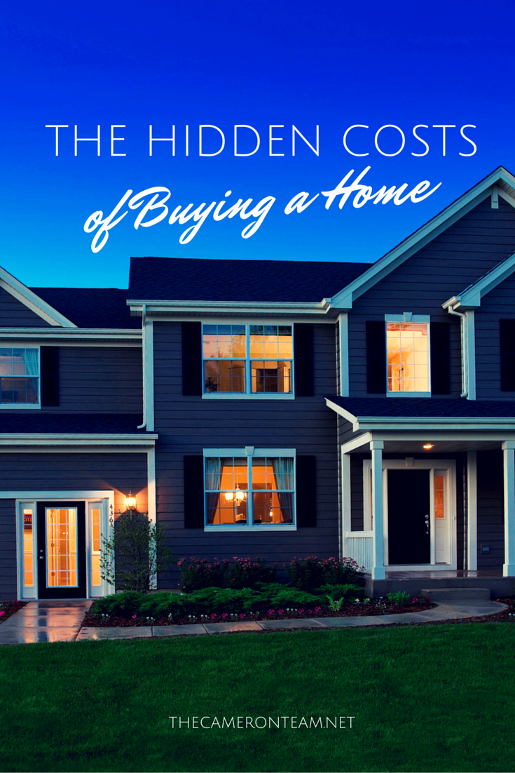 The Hidden Costs Of Buying A Home Home Buying Process Buying First Home Home Buying