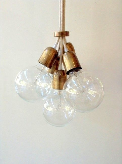 Handmade cable wire bulb chandelier pendant light lamp edison handmade cable wire bulb chandelier pendant light lamp edison industrial modern ebay aloadofball Images