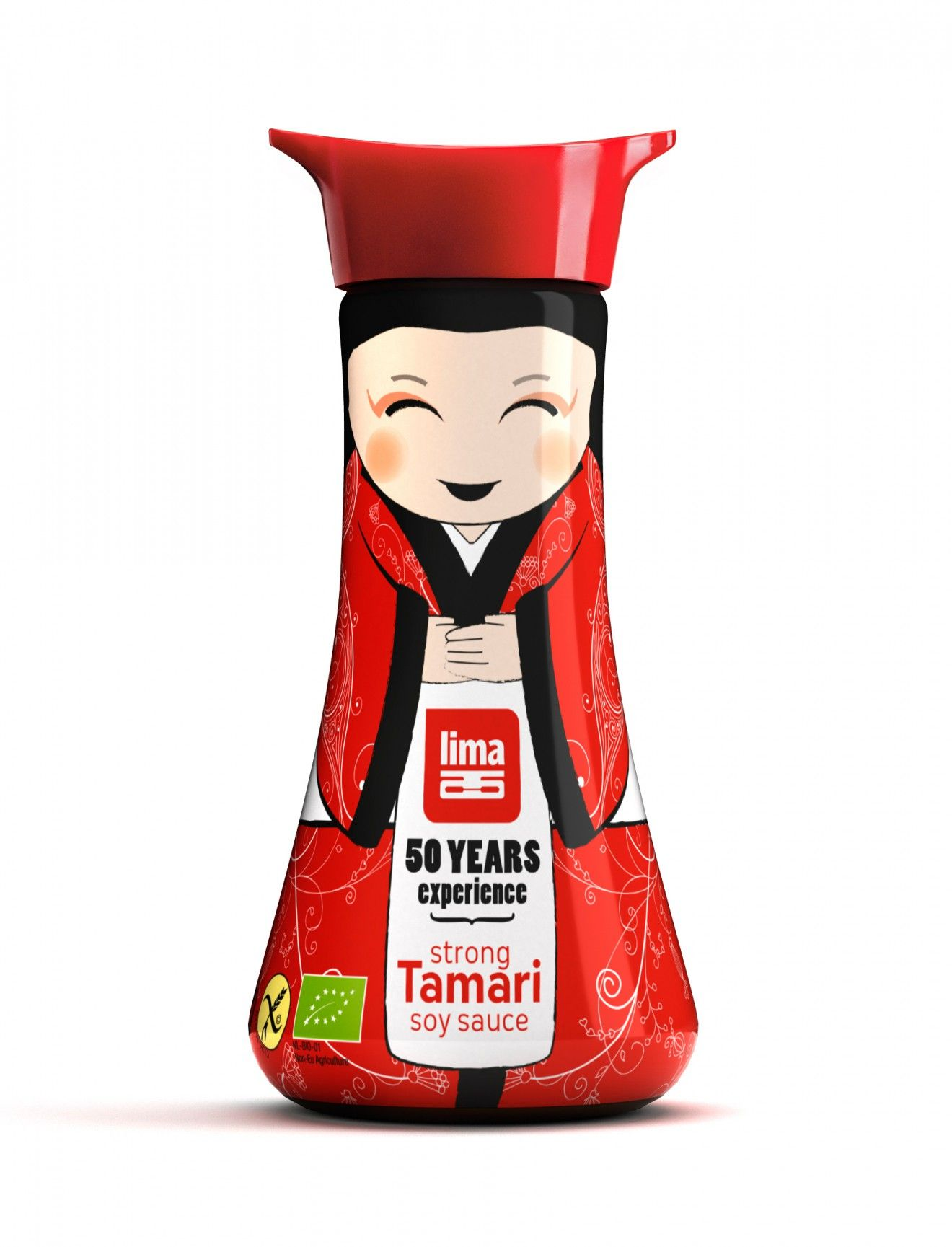 Quatre Mains Package Design Packshot Lima Soy Sauce Tamarin Food Packaging Design Yogurt Packaging Brilliant Packaging
