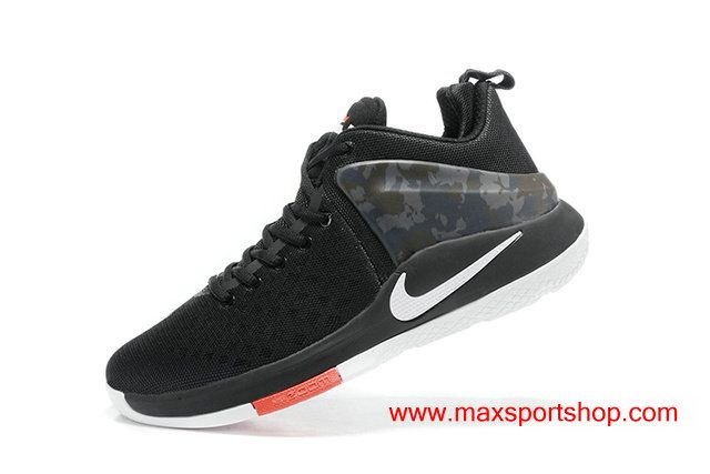 057794102070 2017 Nike Lebron Witness Black Camo White Red Cool Basketball Shoes  67.00