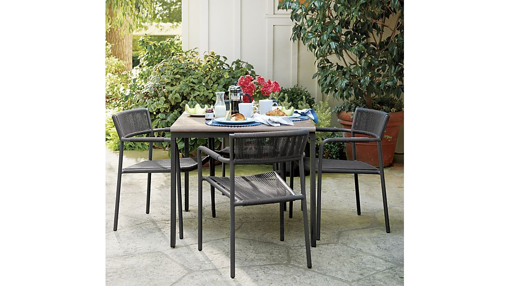 morocco dining chair crate and barrel dining chairs decking and rh pinterest com crate and barrel kitchen furniture crate and barrel kitchen furniture