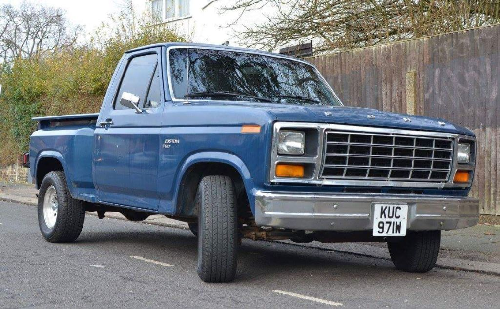 This Ford F100 V8 is for sale. | Fast Fords | Pinterest | V8 cars ...
