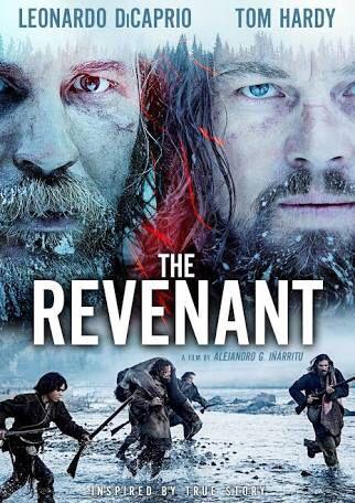 """""""El renacido"""" (Alejandro González Iñárritu, 2015) con Leonardo DiCaprio, Tom Hardy y Will Poulter."""