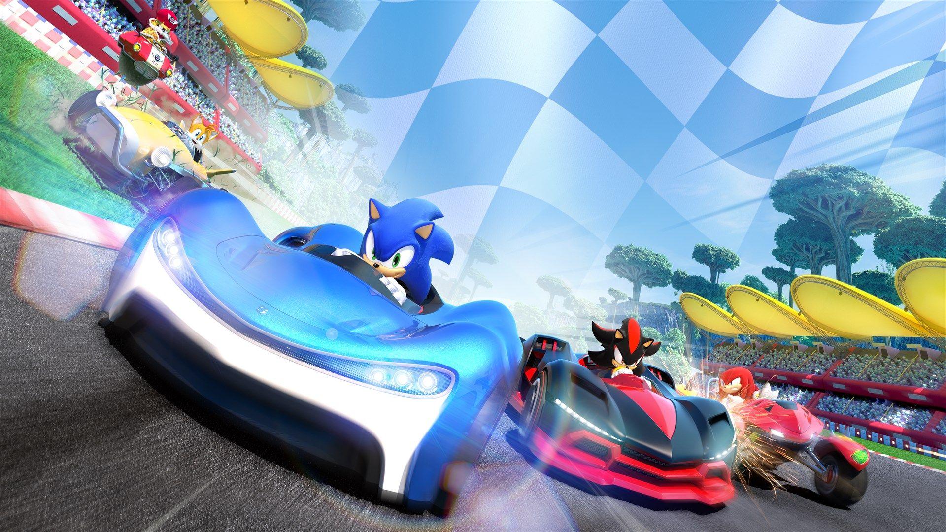 Buy Team Sonic Racing Microsoft Store En Gb Sonic Racing Crash Team Racing