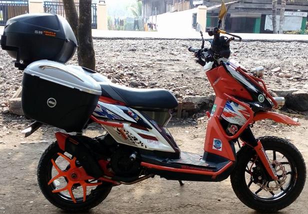 Modifikasi Yamaha X Ride 125 Simple Desain Pinterest Yamaha