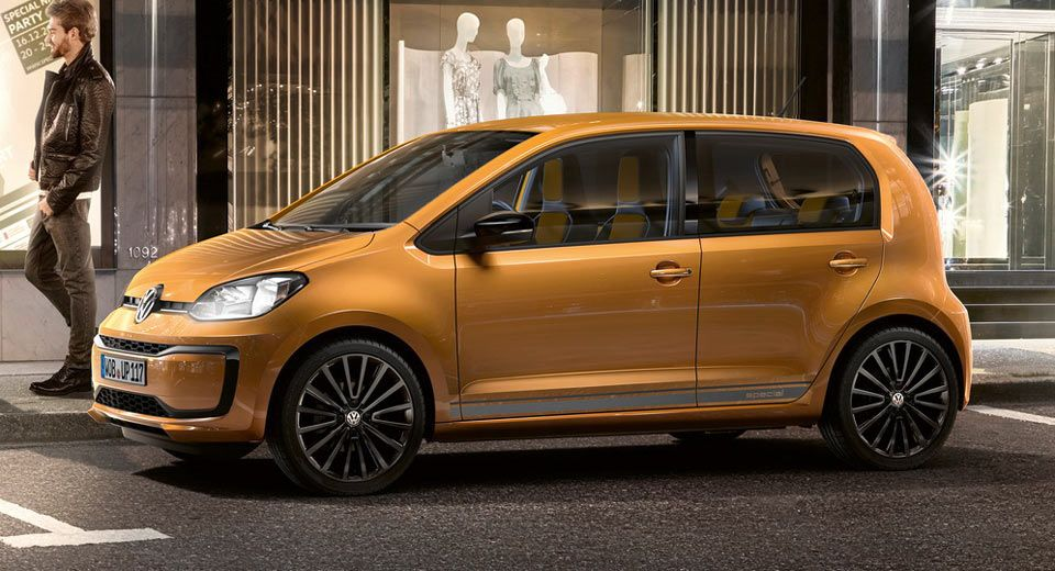 Vw Created A Classic Beetle Inspired Up Special Bug Edition Carscoops In 2020 Vw Up Volkswagen Up New Cars