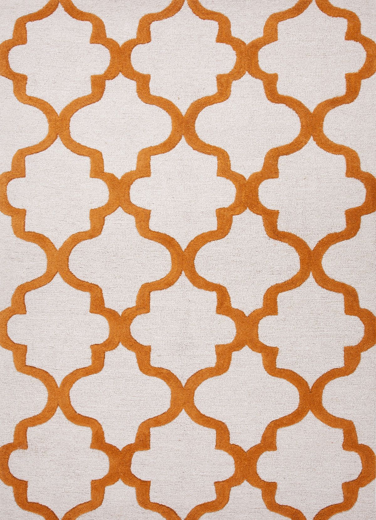 Orange White Nursery Area Rug Orange Area Rug Hand