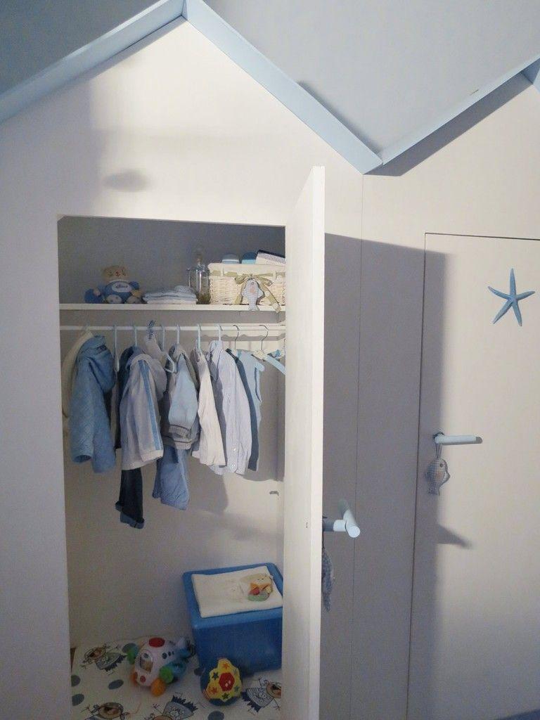 Armadio Casa Al Mare l'armadio dei bambini in una cabina | armadio bambini
