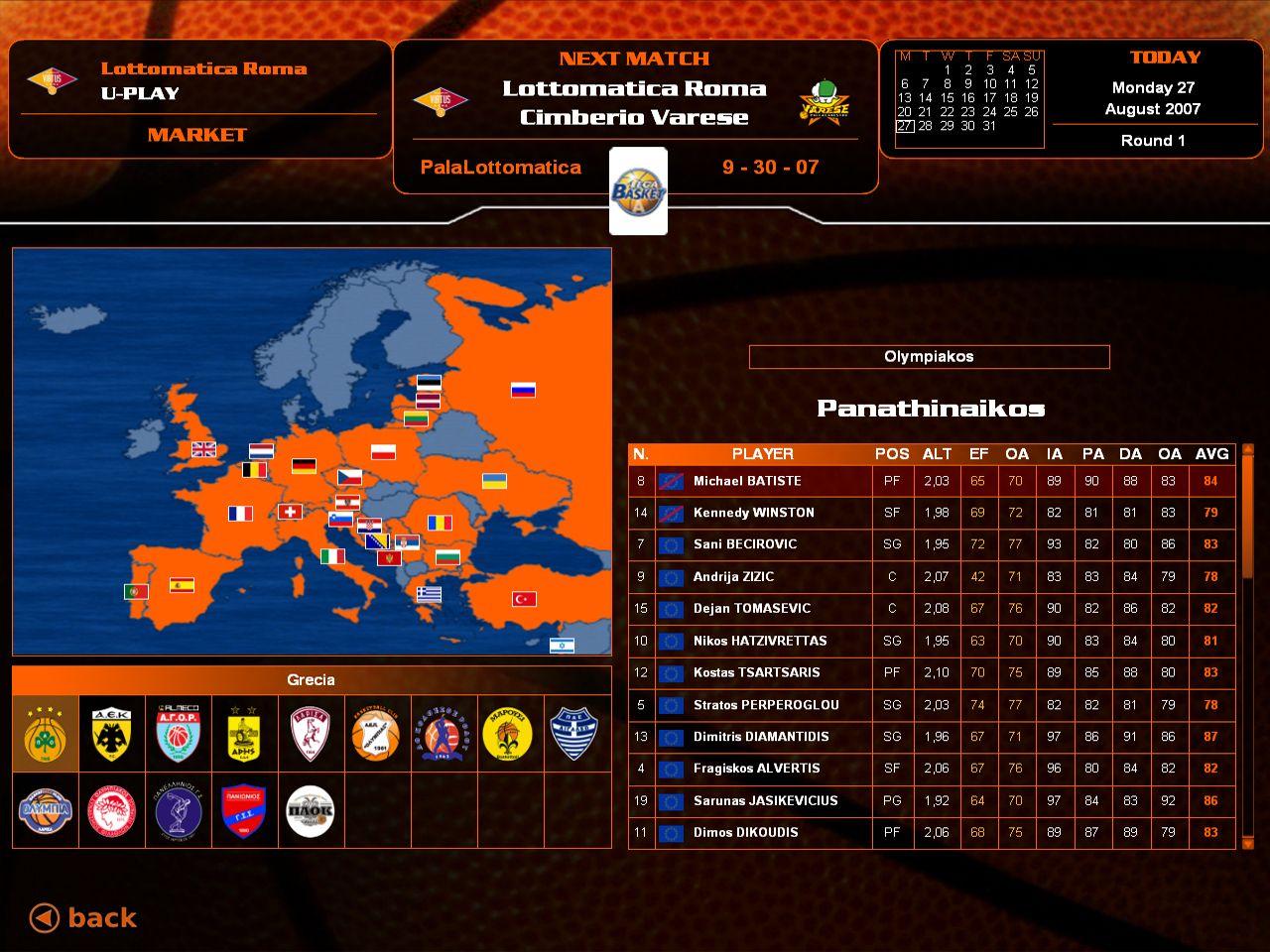 Euroleague Basketball Manager Affiliate Euroleague Basketball Manager Matches Today Basketball Management