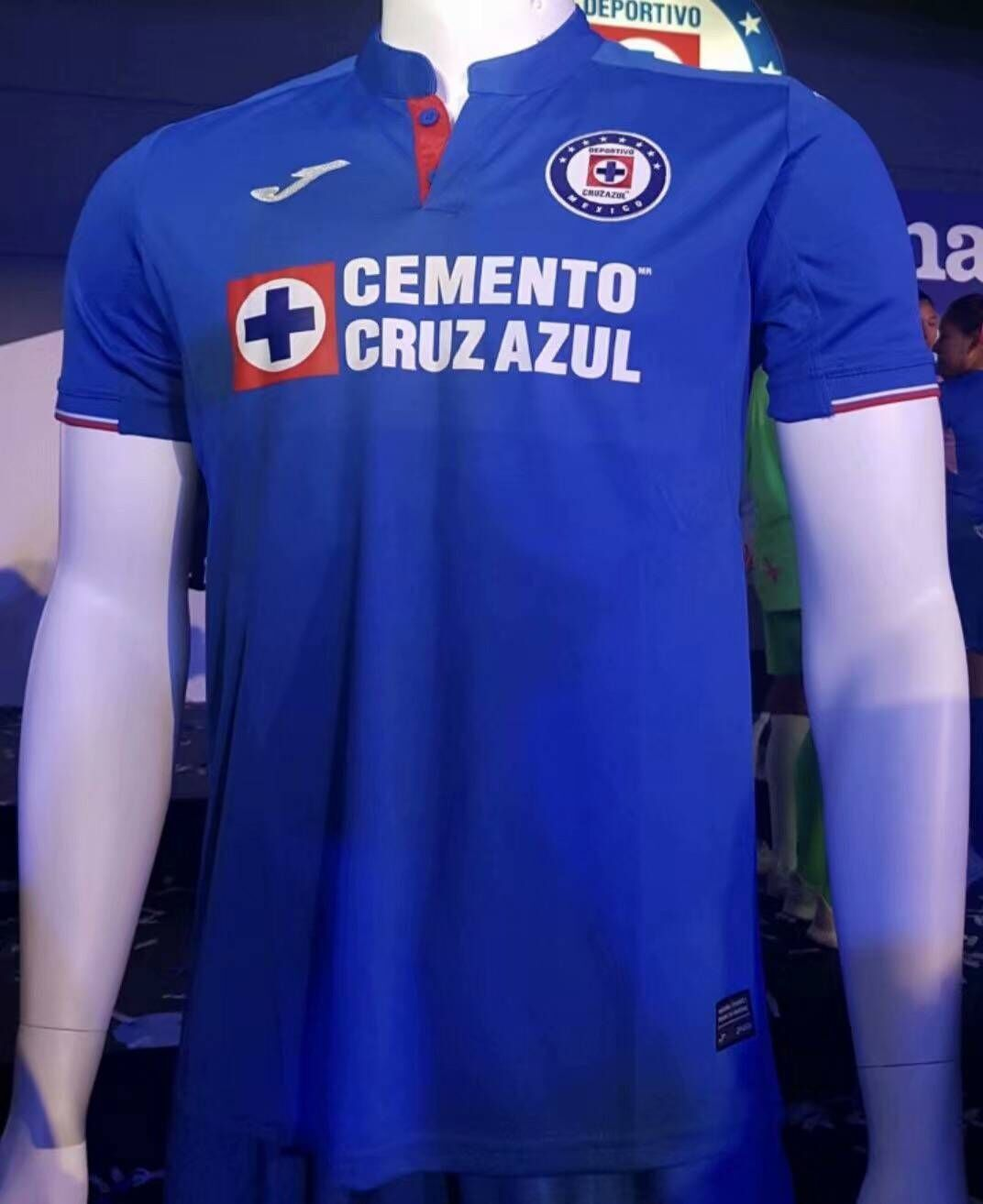 50e585fa287 19/20 Thai Quality With Logo Cruz azul Home Blue Soccer Jersey ...
