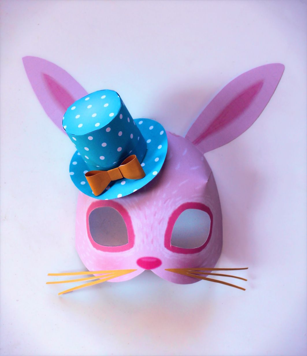 Instant Make Printable Animal Masks Download Mask Templates Now 3d Origami Peacock Diagram Stick Tail D Album Jimena Bunny Love One Of Happythoughts Set Teamed With A Spring Time Happythought Top Hat All Available To Print And Here
