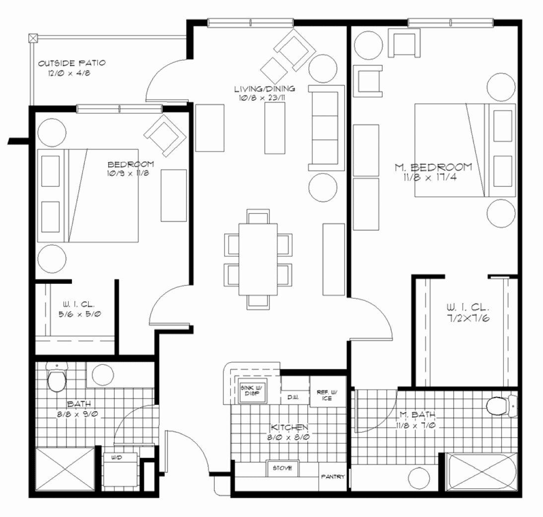 16 2 Bedroom Retirement House Plans In 2020