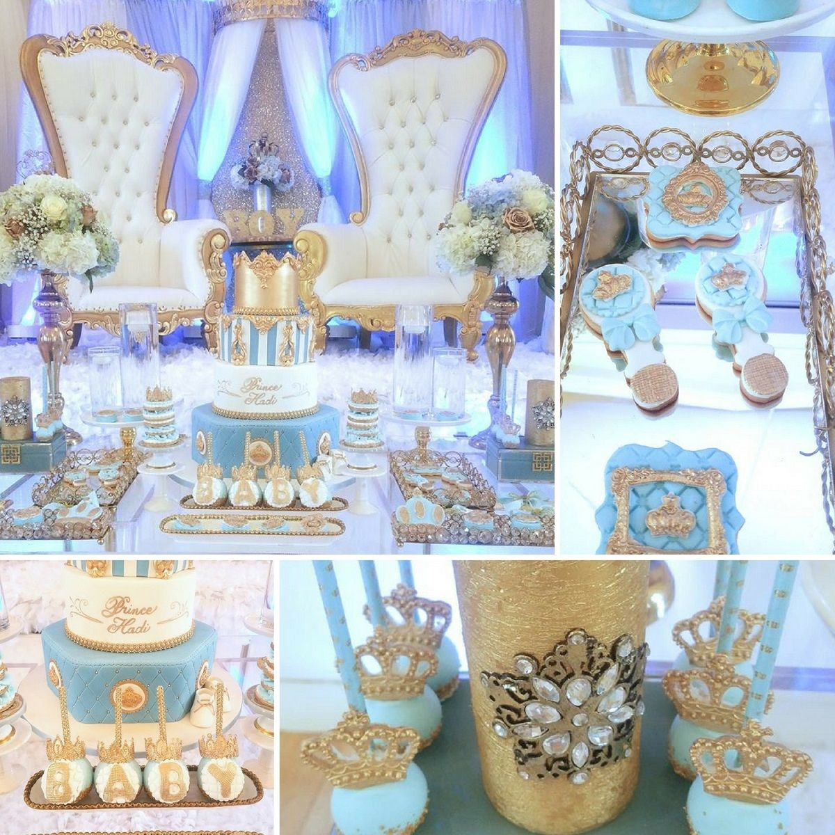 Crown Prince Baby Shower Crown Baby Shower Royal Baby Shower Boy Prince Baby Shower