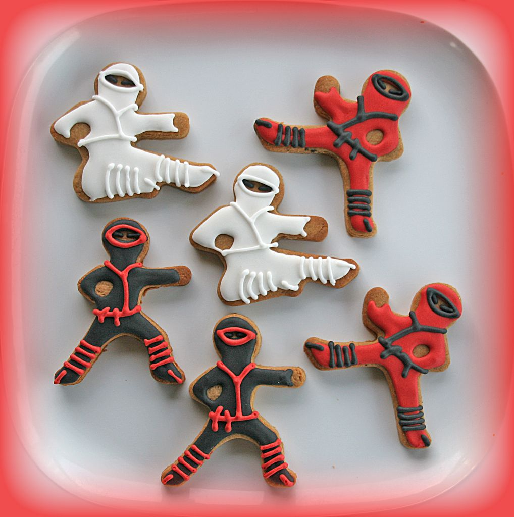 Ninja #cookies ninjago party