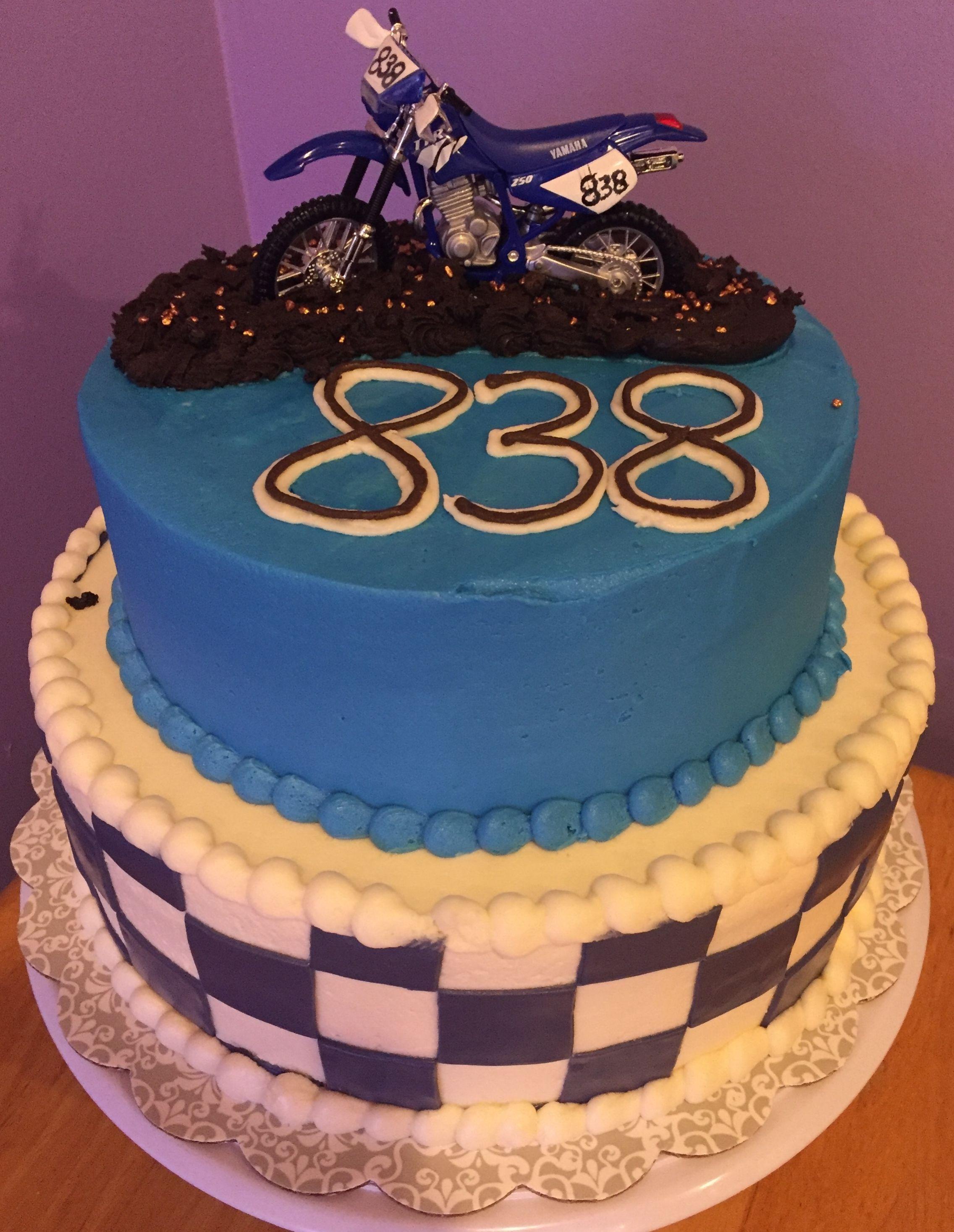 Dirt Bike Birthday Cake Sugar Craft And Tutorials Pinterest