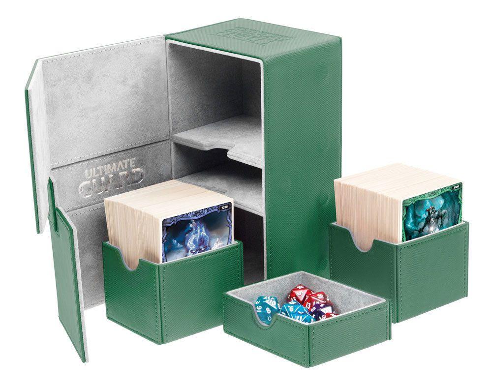 CCG Deck Boxes 183462 Twin Flip N Tray Xenoskin™ Deck