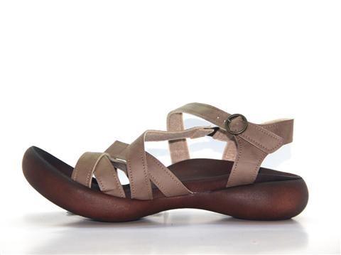 Vegan Shoes & Bags: Arum Walking Sandal by Regetta Canoe in Taupe