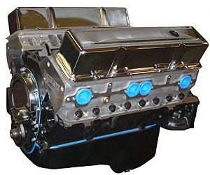 Blueprint engines bp3834ct1 engine and cars blueprint engines bp3834ct1 blueprint engines small block chevy waluminum heads 383ci 420hp malvernweather Choice Image