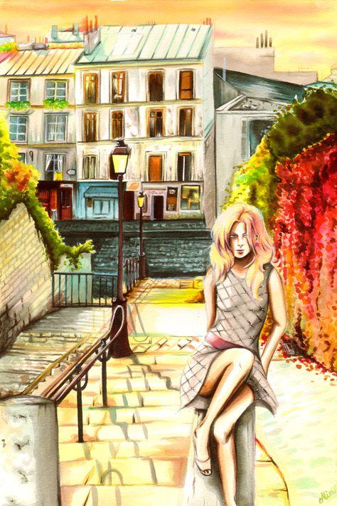 Jem at Montmartre by *alix1981 on deviantART