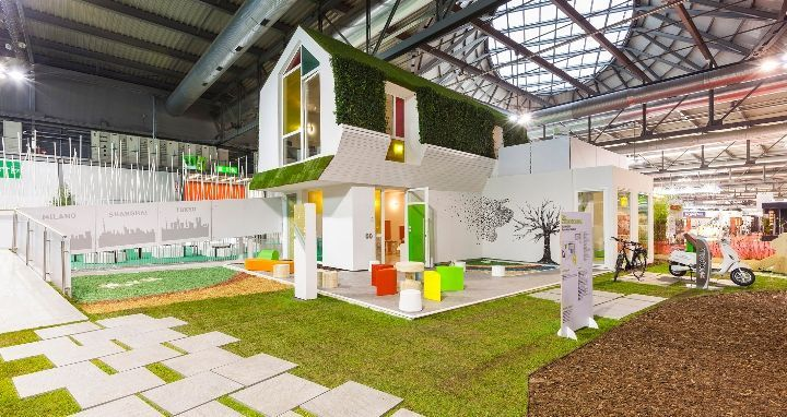 clei a made expo allinterno della mostra green home design abitare il presente - Expo Home Design