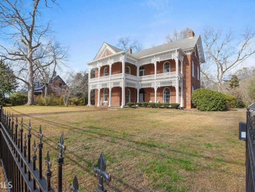 """1836 Twelve Oaks Inspiration for """"Gone With The Wind"""" In"""
