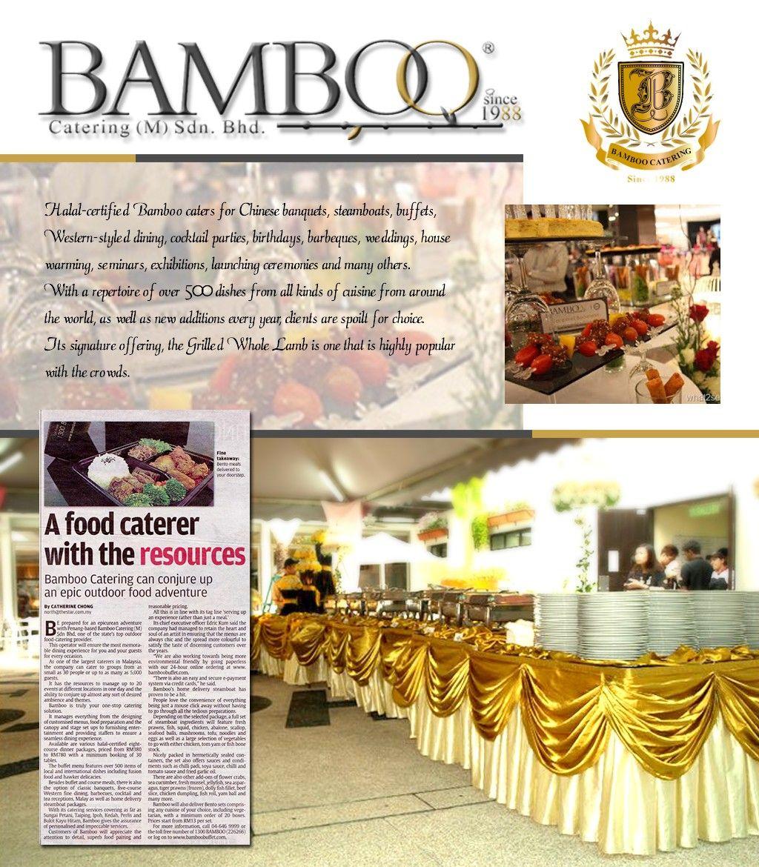 Bingazz Com Bamboo Catering Penang Catering Chinese Banquet Halal