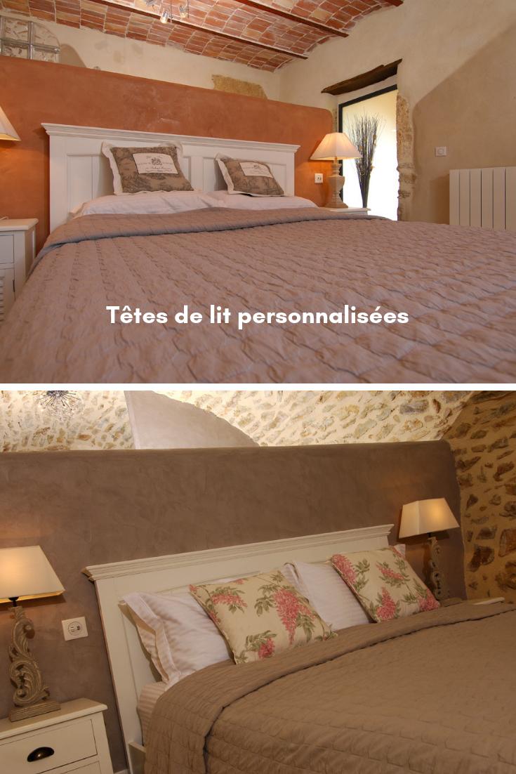 Tete De Lit En Beton Cire Tete De Lit Personnalisee Decoration Maison Lit