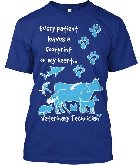 8949fe292b8 Veterinary Technician T-shirt from TeeSpring | Vet Tech Stuff | Vet ...