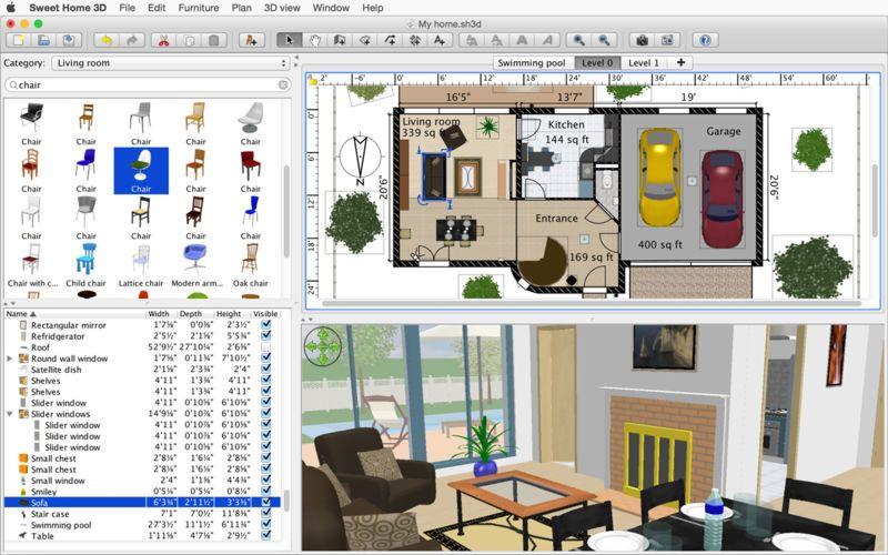 Sweet Home 3d 5 6 1 For Mac 破解版 家装辅助设计软件 Home