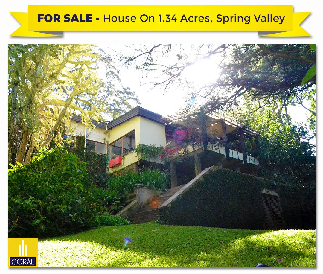 Standalone 4 Bed Home On 1.34 Acres Of Lush Gardens In