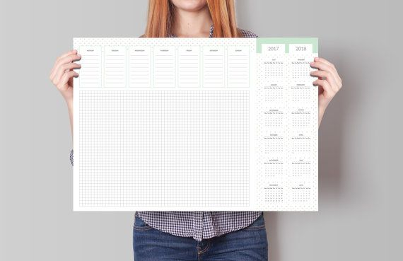 Items Similar To Weekly Planner Desk Pad A3 Desk Planner Sheets Pineapple Weekly Planner Planning Form Office Deskpad Gift For The Boss Coworker Gift On E Weekly Desk Planner Desk Planners