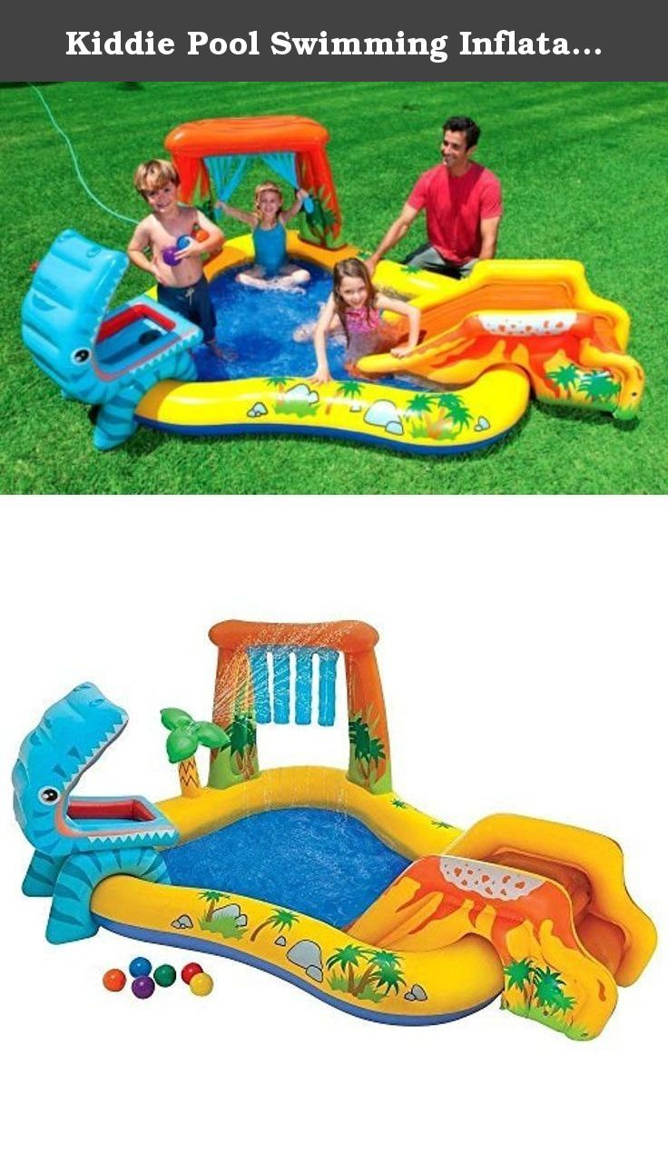 kiddie pool swimming inflatable outdoor baby sprinkler toddler