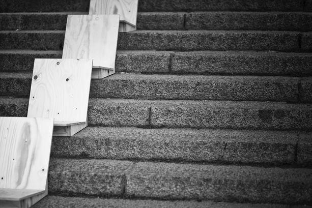 The Stair Chair by Joel Larsvall and Filip Forsberg