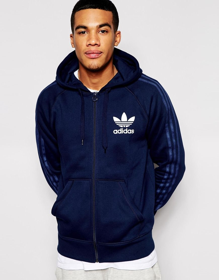 Adidas Originals Zip Up Hoodie Cold Blood Adidas Originals