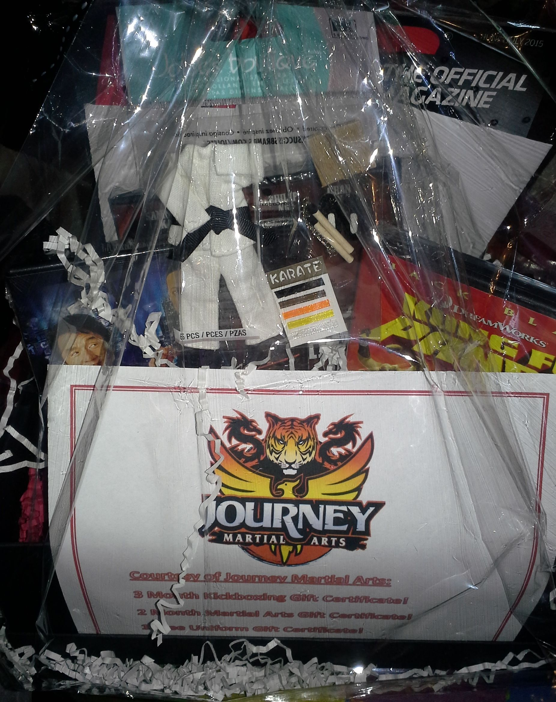 Martial Arts Gift Basket