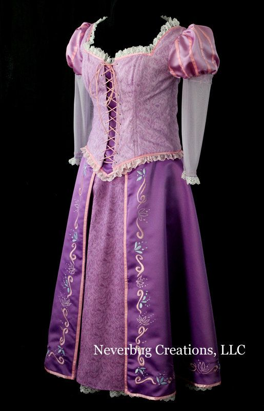Rapunzel Parks Version Custom Costume | sew crafty | Pinterest ...