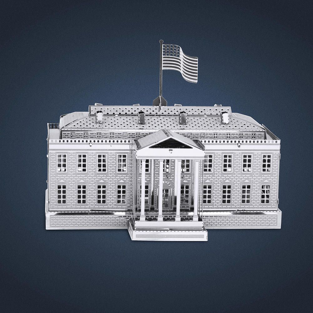 Metal Earth 3D Laser Cut Models are becoming a hot item to collect. We offer many designs to choose from, including Popular Landmarks, Military Aviation, Bug Collection and Much More. Located at 1600 Pennsylvania Avenue NW in Washington, D.C., the White House is the official residence and principal workplace of the President of the United States. It was designed by Irish-born James Hoban and built between 1792 and 1800 of white-painted Aquia sandstone. During the War of 1812 British troops…