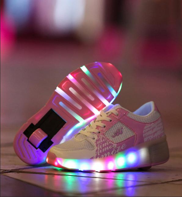 chaussures a roulettes heelys pas cher