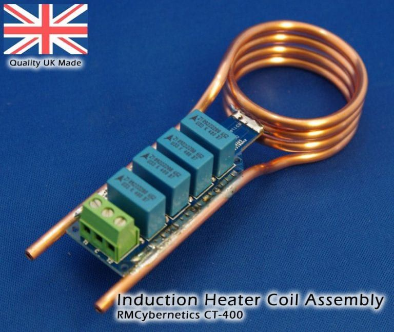 Induction Heater Coil Self Resonant Water Cooled Induction Coil