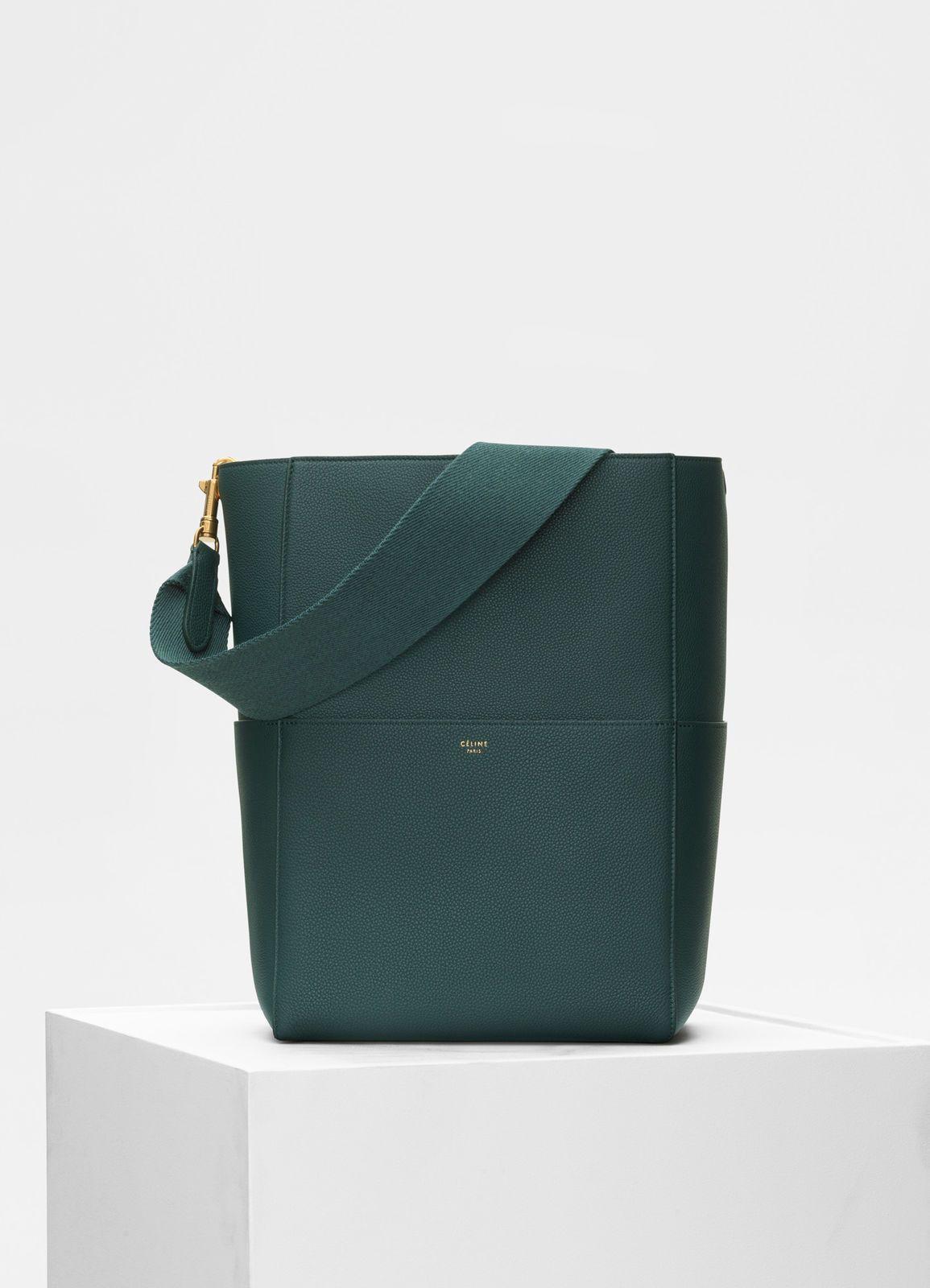 d9dacca89 Sangle Bucket bag in soft grained calfskin   CÉLINE   Summer   Bags ...
