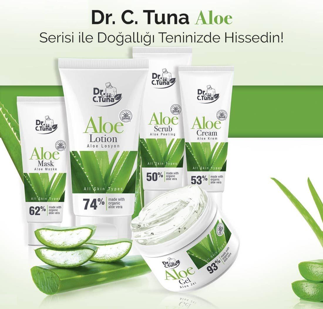 Hızlı ve Doğal Bakımın Sırrı Dr. C. Tuna ALOE VERA Aloe
