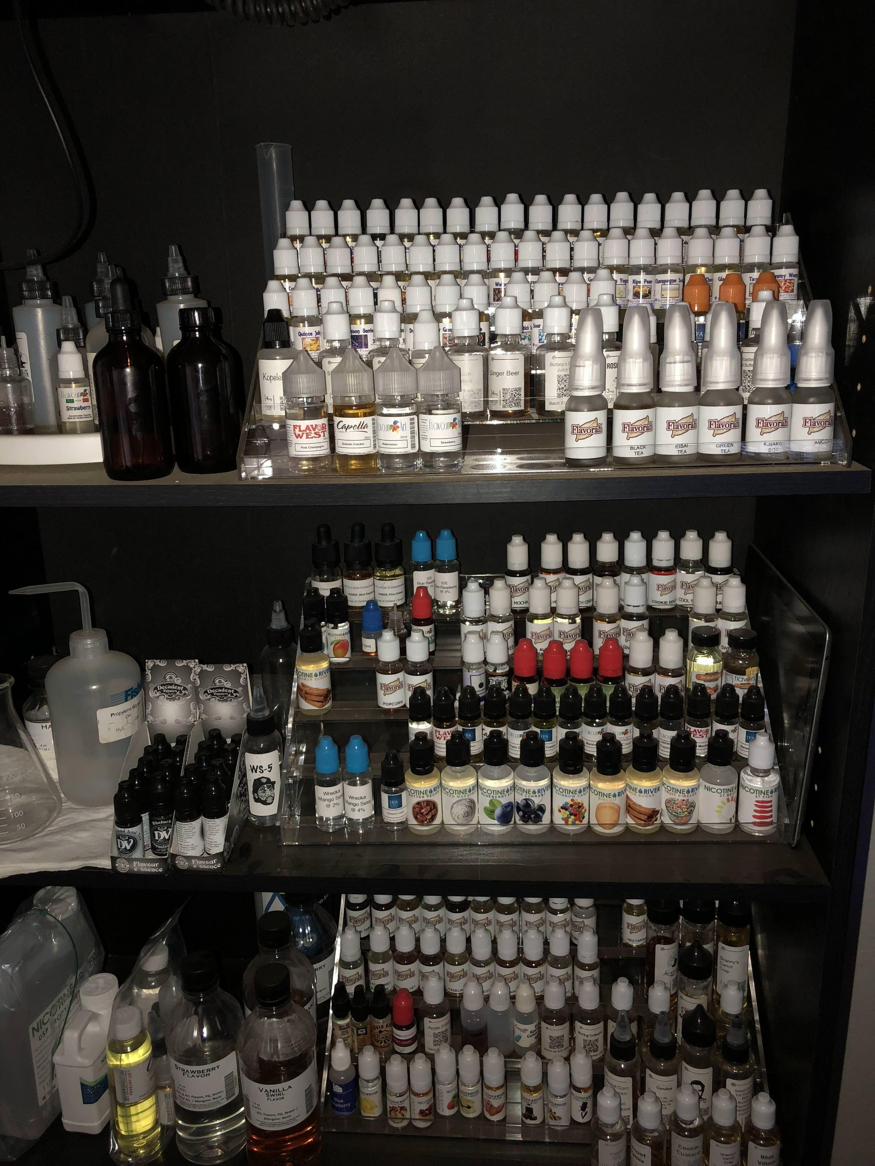 Diy setup part 2 vape stand vape liquor