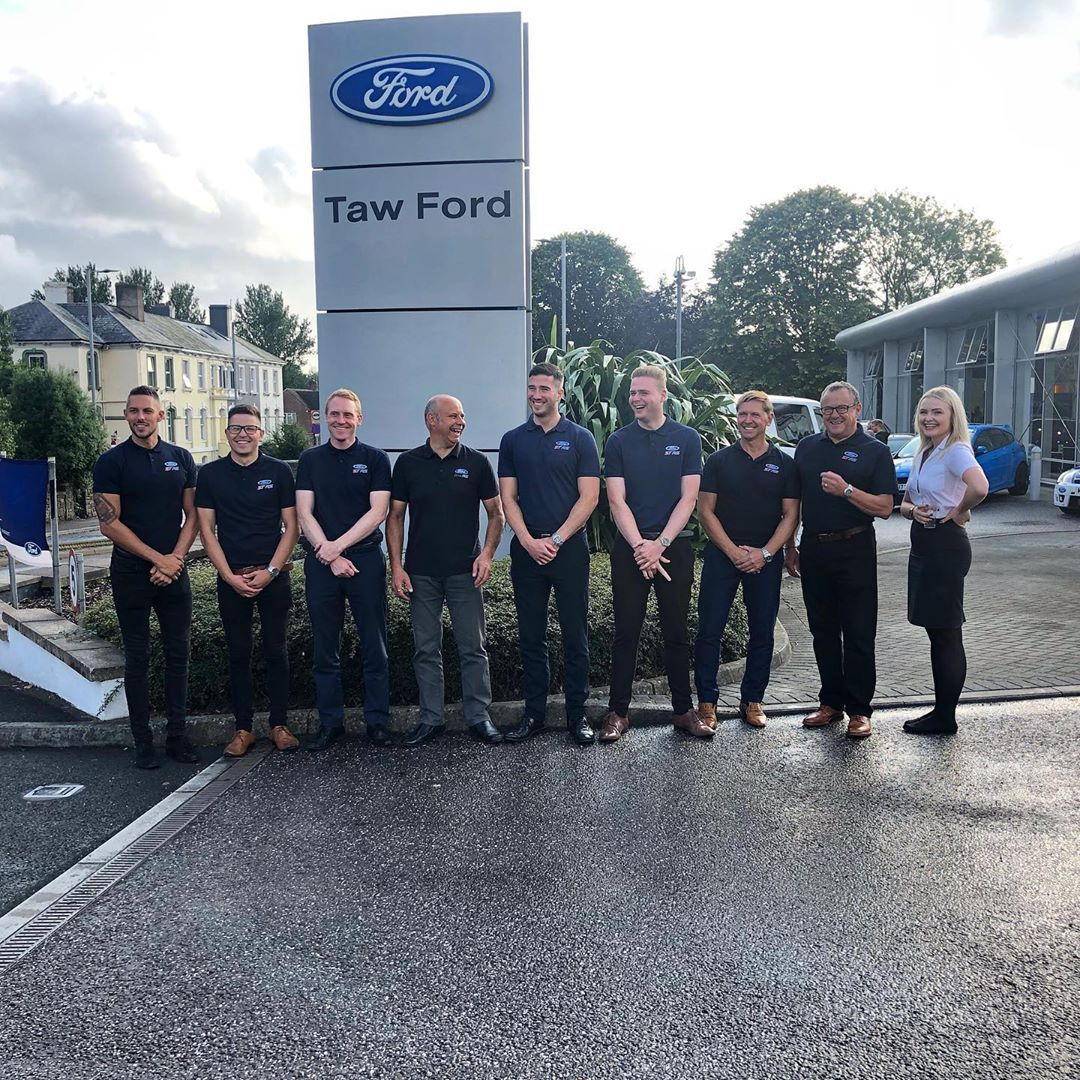 Our Team Ready To Host Our Ford Performance Evening Yesterday