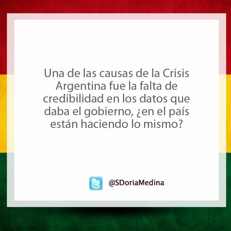 Comentarios desde el twitter @SDoriaMedina