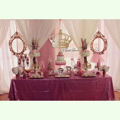 Once upon a time, there was a little princess who was turning ONE! | CatchMyParty.com