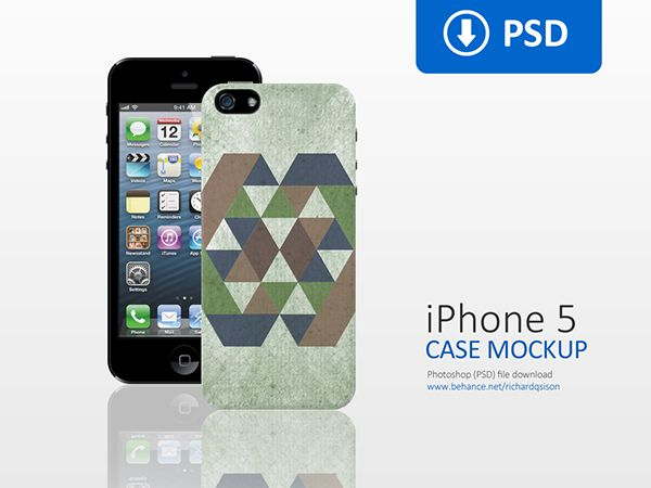 Download Clean Iphone 5 Case Mockup On Behance Clean Iphone Iphone 5 Case Iphone 5