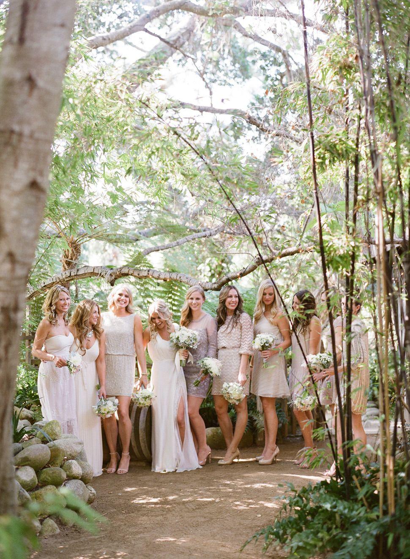 Bohemian inspired california wedding at holly farm bohemian