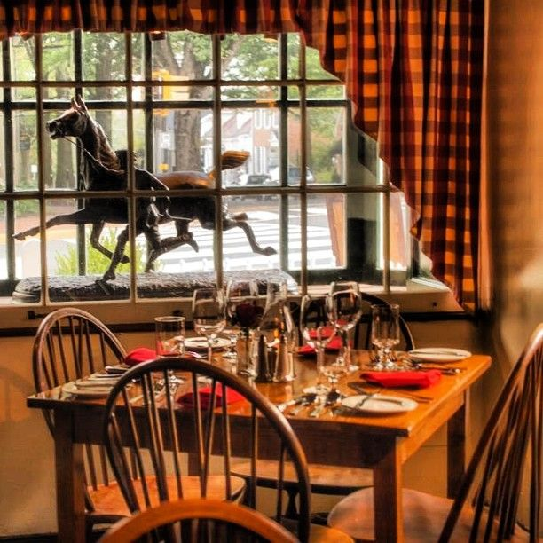 The Red Fox Inn in Middleburg is a cozy spot to enjoy the winter in #Loudoun. Open since 1728 it is the oldest continually operating inn in the US. Photo by Sue McPherson.