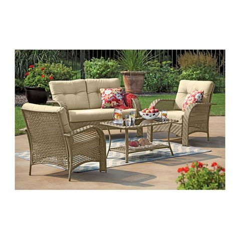 Awesome Fairlawn Piece Patio Seating Group Shopko My Beautiful Garden